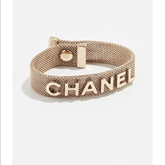 CHANEL Jewelry - BNWT CHANEL MESH BRACELET